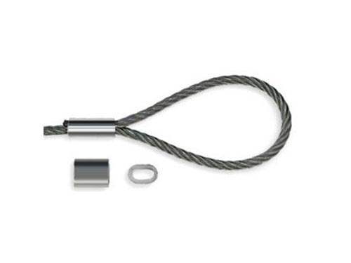 Зажим алюминиевый DIN3093